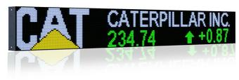 led stock ticker